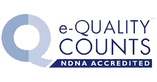 e-Quality Counts NDNA Accredited