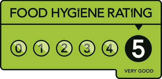 Food Standards Agency Rated Very Good 5